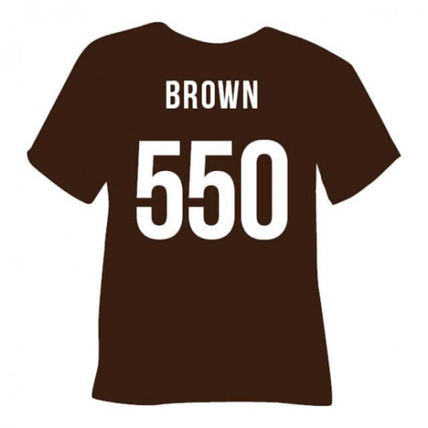 Tubitherm PLT Flock 550 | Brown