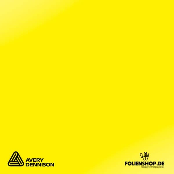 Avery Dennison® 707 | Primrose Yellow