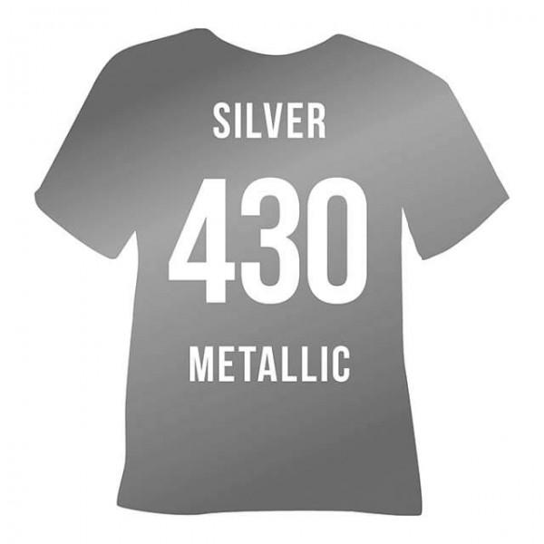 Poli-Flex Premium 430 | Silver Metallic