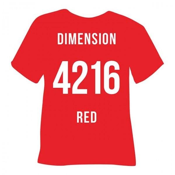 Poli-Flex Image 4216 | Dimension Red