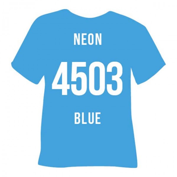 Poli-Flex Blockout Soft 4503-S | Neon Blue
