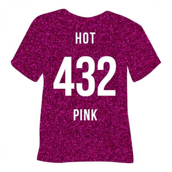 Poli-Flex Pearl Glitter 432 | Hot Pink