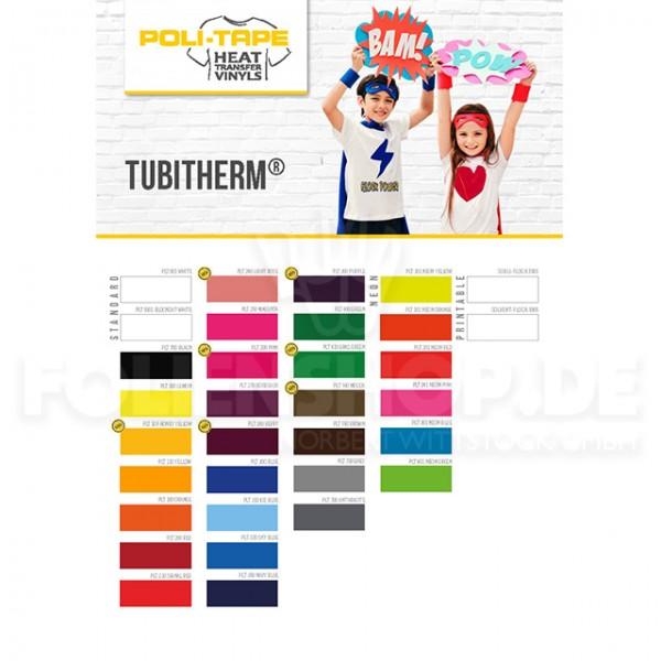 Farbkarte TUBITHERM® PLT