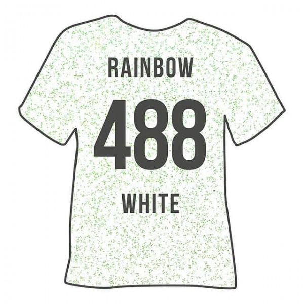 Poli-Flex Pearl Glitter 488 | Rainbow White