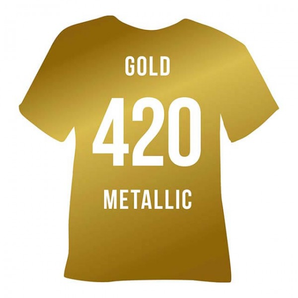 Poli-Flex Premium 420 | Gold Metallic