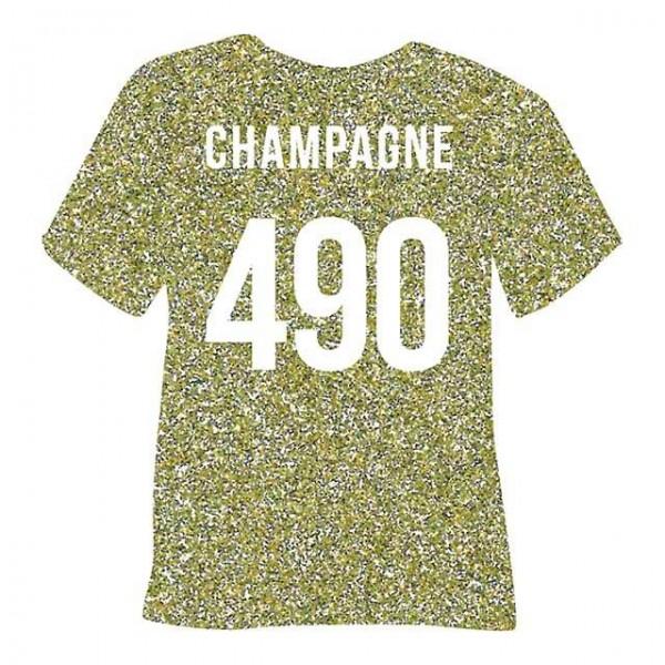 Poli-Flex Pearl Glitter 490 | Champagne