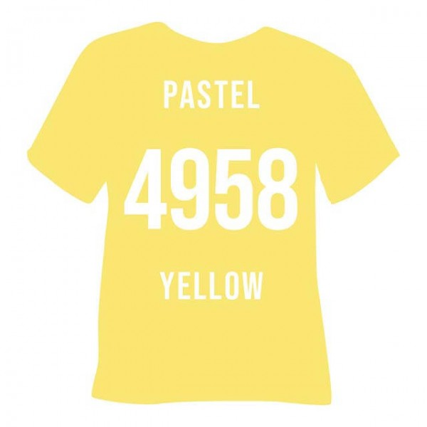 POLI-FLEX® TURBO 4958 | Pastel Yellow