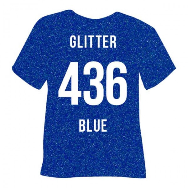 Poli-Flex Image 436 | Glitter Blue