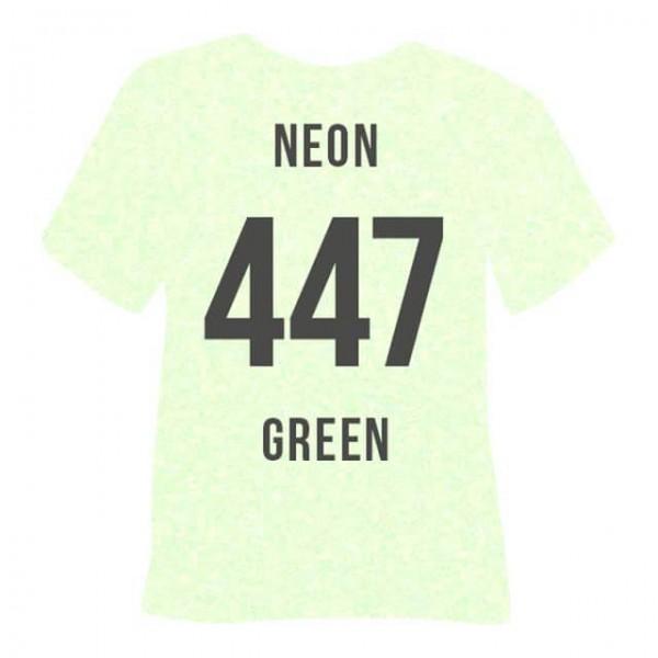 Poli-Flex Pearl Glitter 447 | Neon Green