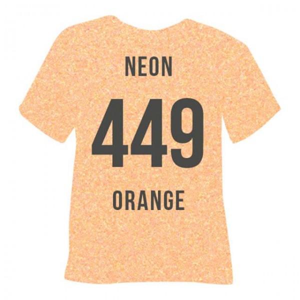 Poli-Flex Pearl Glitter 449 | Neon Orange