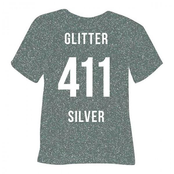 Poli-Flex Image 411 | Glitter Silver