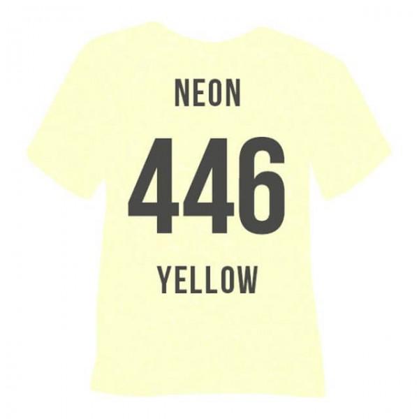Poli-Flex Pearl Glitter 446 | Neon Yellow