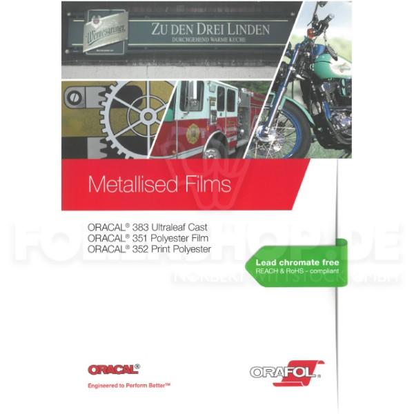 Farbkarte ORACAL® Metallised Films