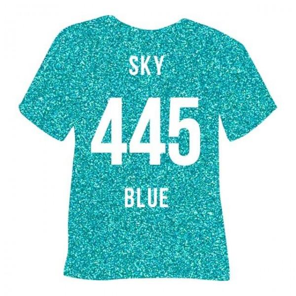 Poli-Flex Pearl Glitter 445 | Sky Blue