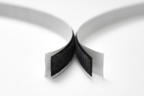 Klettband weiß