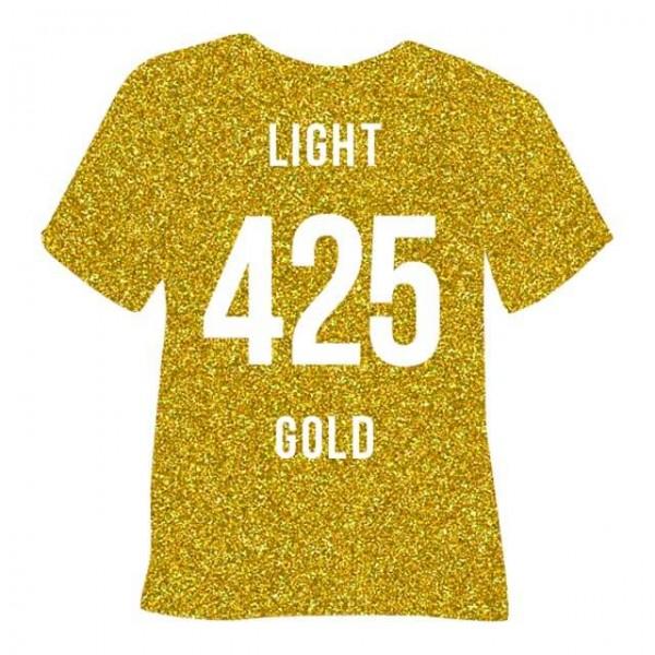Poli-Flex Pearl Glitter 425 | Light Gold