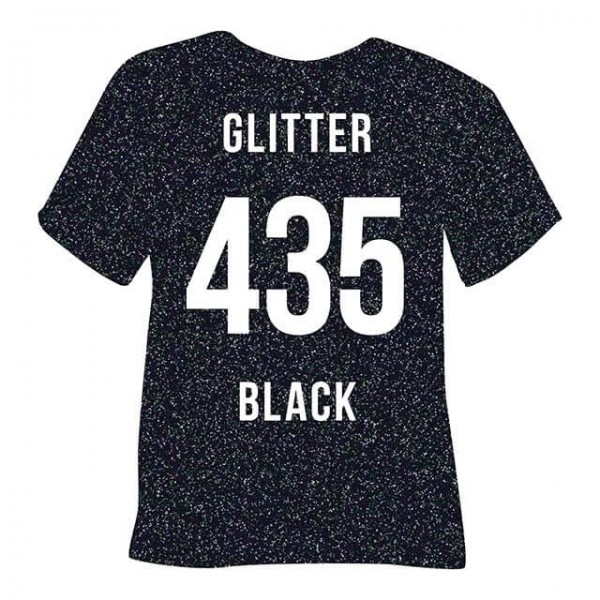 Poli-Flex Image 435 | Glitter Black