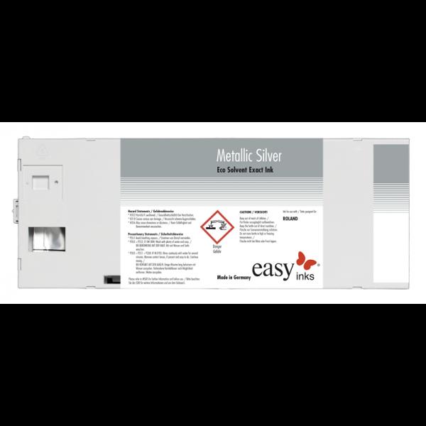 easy Eco Solvent Exact Tinte | Metallic Silver