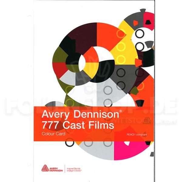 Farbkarte Avery Dennison® 777 Cast Film