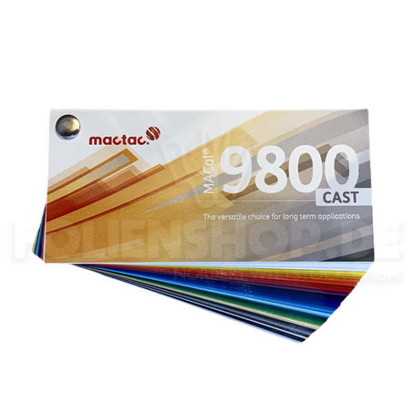 Farbfächer MACal 9800 CAST