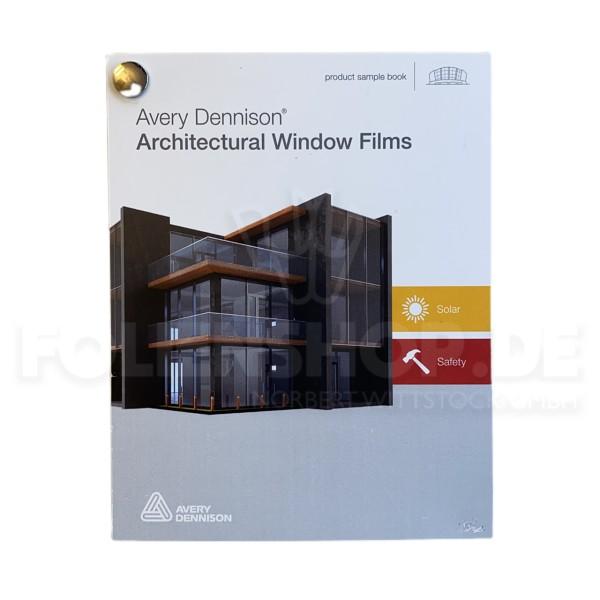 Farbfächer Avery Dennison® Architectural Window Films Solar + Safety