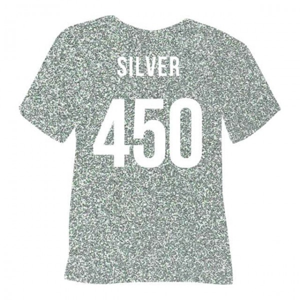 Poli-Flex Pearl Glitter 450 | Silver