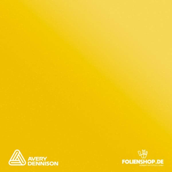 Avery Dennison® Supreme Wrapping Film | Satin Metallic Energetic Yellow | BR9670001