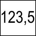 123,5 cm