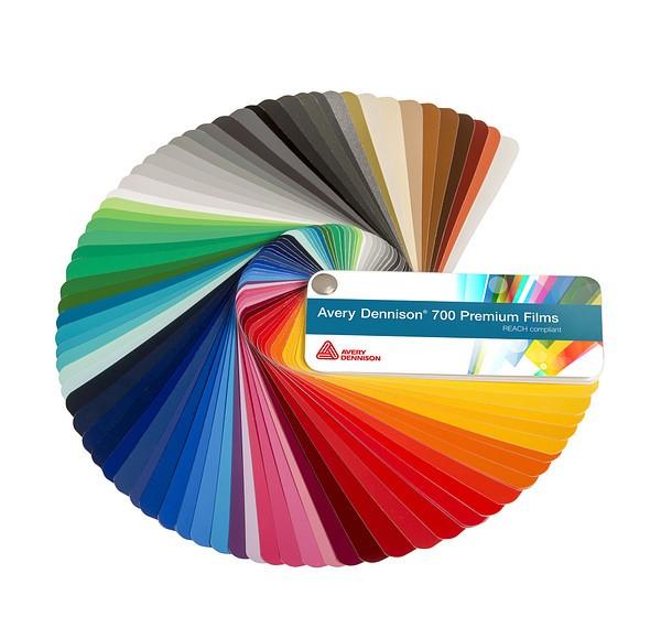 Farbfächer Avery Dennison® 700 Premium Film