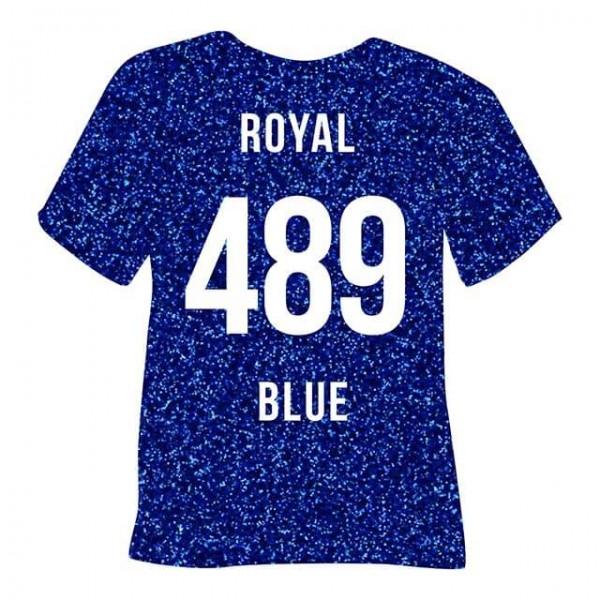 Poli-Flex Pearl Glitter 489 | Royal Blue
