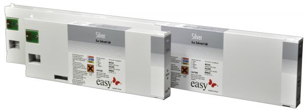 easy Eco Solvent Exact Tinte | Silber-Metallic