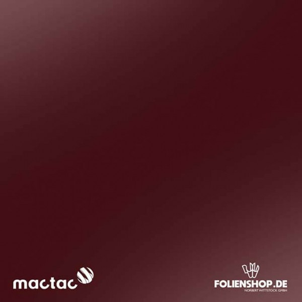 MACtac ColourWrap G34 | Gloss Wine Red