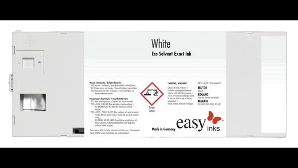 easy Eco Solvent Exact Tinte   White