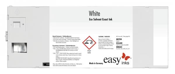 easy Eco Solvent Exact Tinte | Weiß
