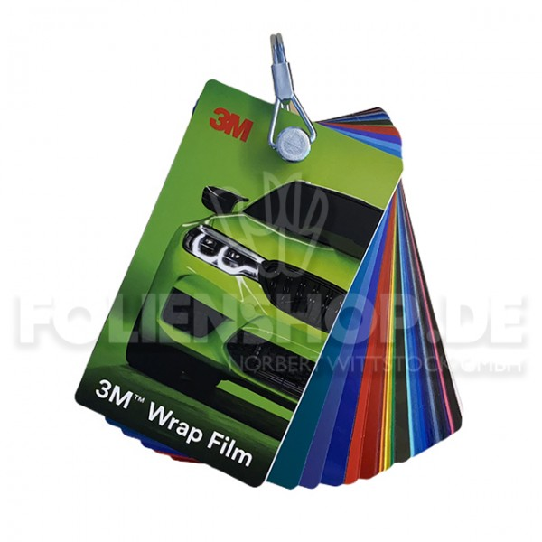 3M™ Farbfächer Wrap Film 1080 / 2080 / Overlaminate 8900