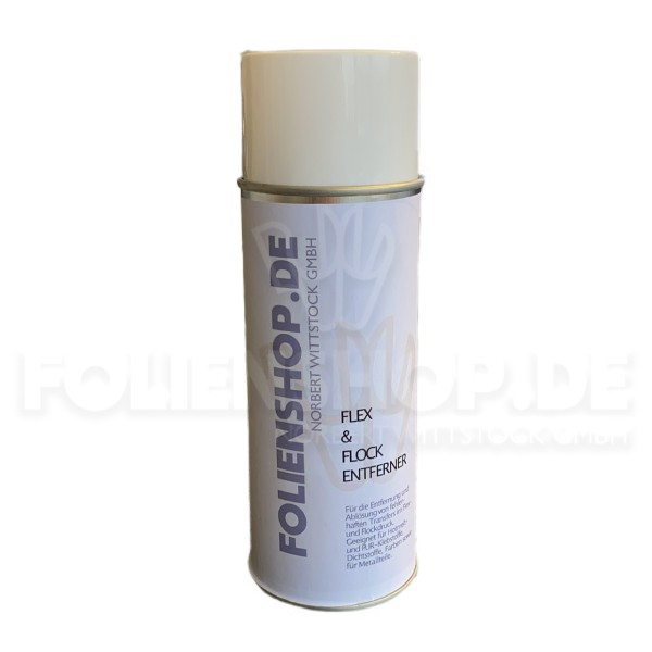 PUR-O-CLEAN Aerosol | Flock- und Flexentferner | 400 ml
