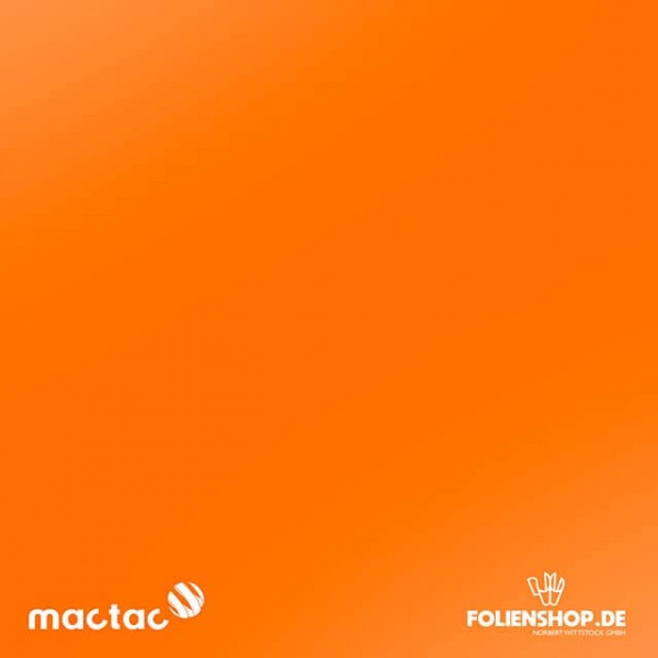 MACtac ColourWrap G22 | Gloss Bright Orange