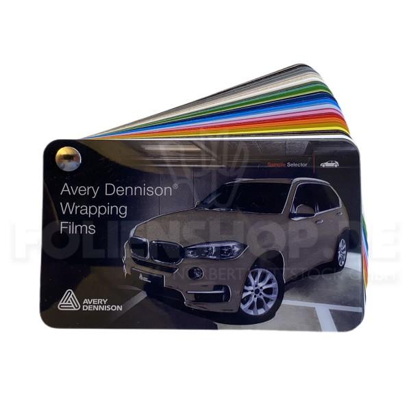 Farbfächer Avery Dennison® Supreme Wrapping Film