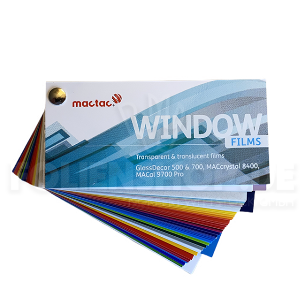 Farbfächer MACal Window Films