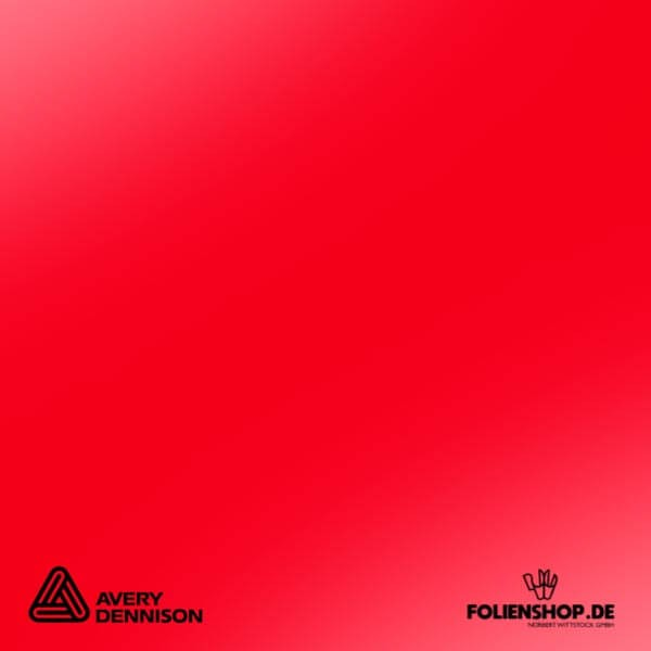Avery Dennison® 849 | Geranium Red
