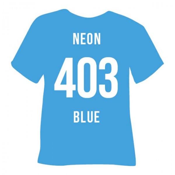 Poli-Flex Premium 403 | Neon Blue