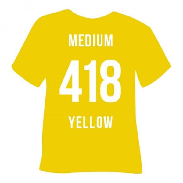Poli-Flex Premium 418 | Medium Yellow