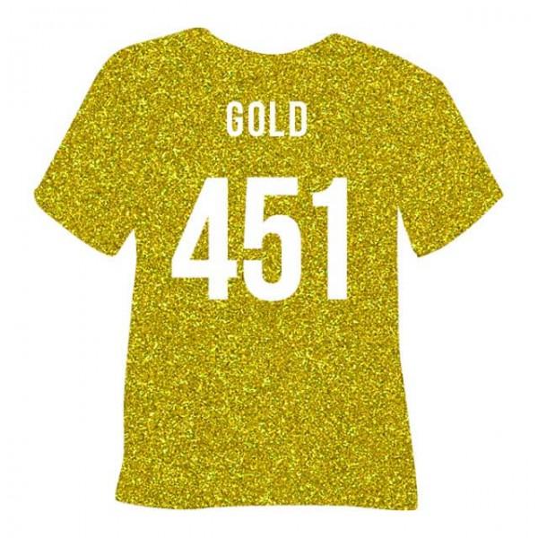 Poli-Flex Pearl Glitter 451 | Gold