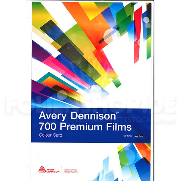 Farbkarte Avery Dennison® 700 Premium Film