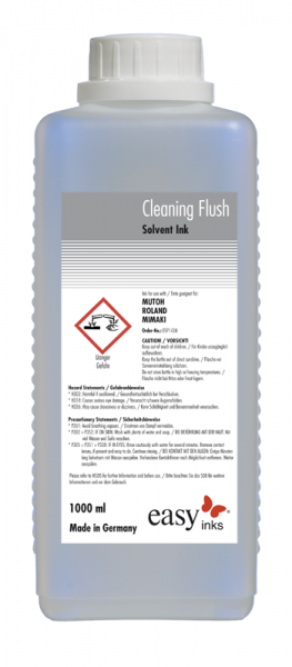 easy Solvent Cleaning Flush