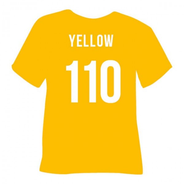 Tubitherm PLT Flock 110 | Yellow
