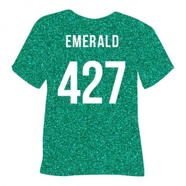 Poli-Flex Pearl Glitter 427 | Emerald